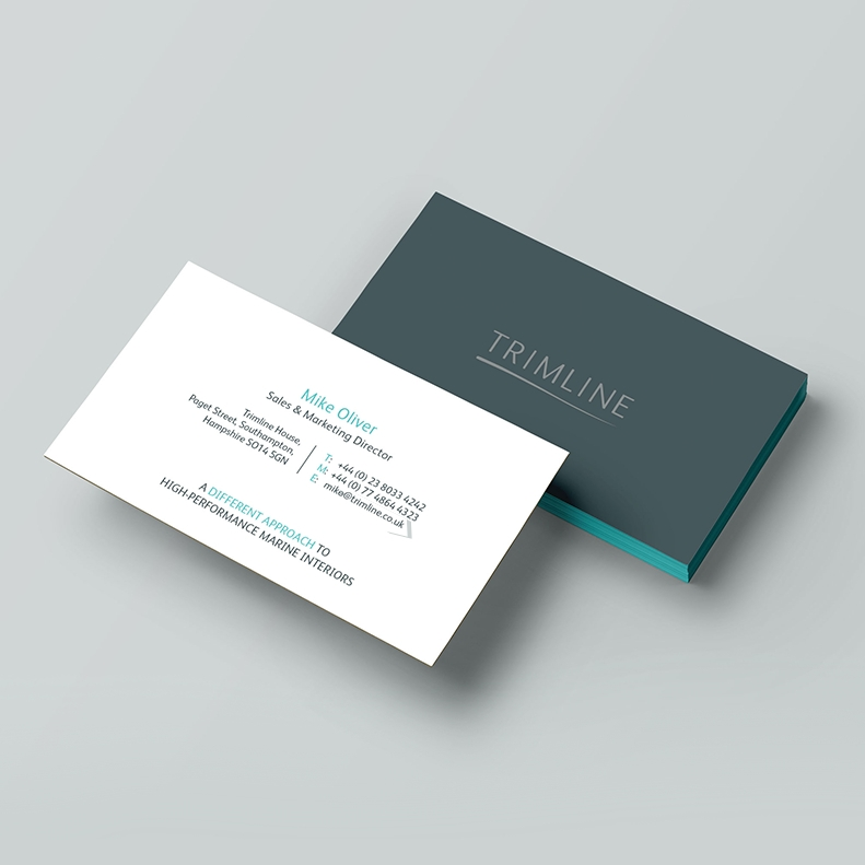 Trimline Business Cards